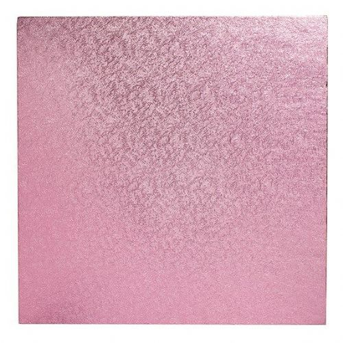 14'' (355mm) Cake Board Square Light Pink